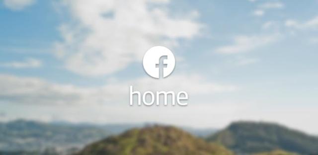 Home: Conjuto de aplicaciones de Facebook